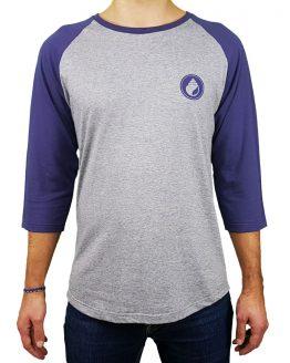 T-shirt raglan manche 3/4 motif original