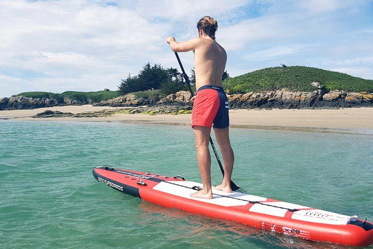 Sortie en paddle short de bain
